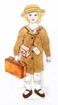 Evacuee Dress Up Paper Doll