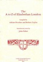 The A-Z of Elizabethan London