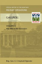 Official History of the Great War Gallipoli Volume 2