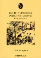 Pre 1841 Census and Population Listings in the British Isles 5th Edition