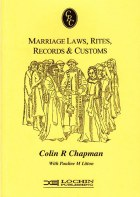 Marriage Laws, Rites, Records And Customs