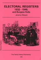Electoral Registers and Burgess Rolls 1832-1948