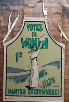 Suffragette Votes For Women Apron