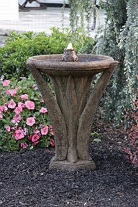 Fountain, Meadows Glow, 27""