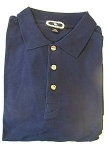 Shirt, Navy, XL