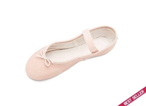 DANSOFT CHILDRENS LEATHER FULL SOLE SLIPPER