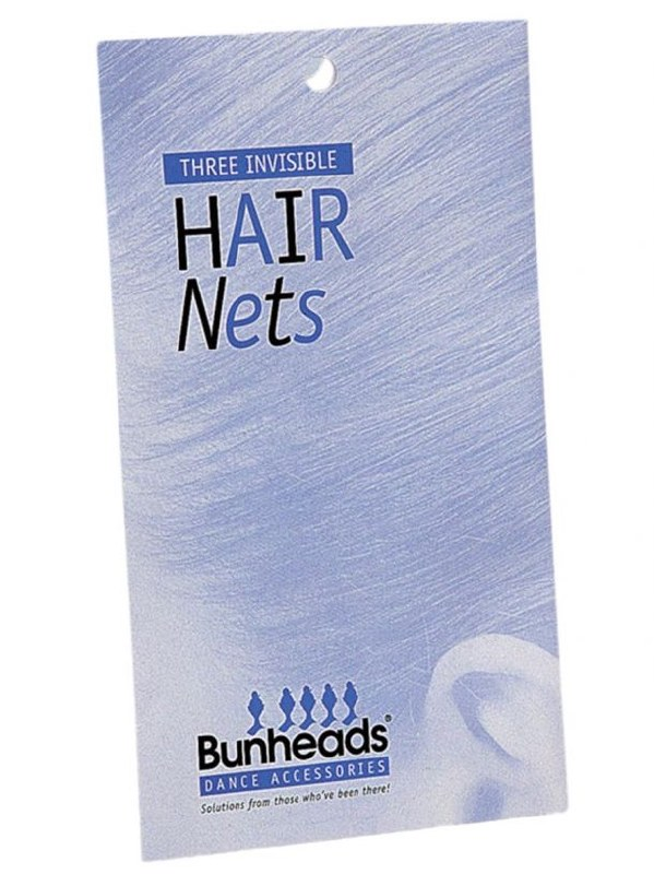 NYLON HAIR NETS THREE IN A PACKAGE