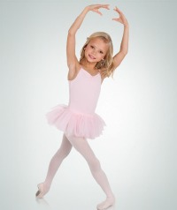 TUTU DRESS WITH PINCH FRONT