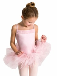 RUFFLE YOKE TUTU DRESS