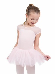 KEYHOLE BACK TUTU DRESS