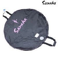 SBAG07-06 TUTU BAG POLYESTER WITH INSIDE LINING AND DOUBLE STRAPS SEE THROUGH WINDOW