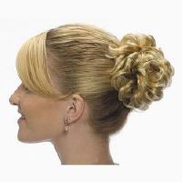 SYNTHETIC HAIR SCRUNCHY