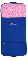 GARMENT BAG BLUE/PINK