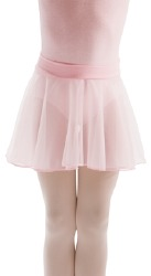 PULL ON CHIFFON SKIRT COTTON WAIST