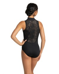 Z/F LEOTARD 8-10/MD BLK