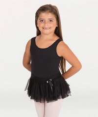 TANK TUTU DRESS WITH BOW
