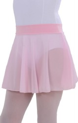 CHILD'S PULL-ON SKIRT WITH ELASTICIZED WAISTBAND