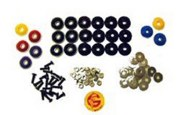 BODY BOLT KIT BLACK