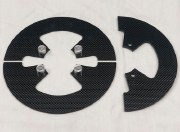 MINI CARBON SPROCKET GUARD 8.0