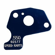 MAX SIZE RESTRICTOR PLATE BLUE .500