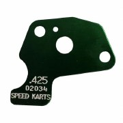 MAX SIZE RESTRICTOR PLATE GREEN .425
