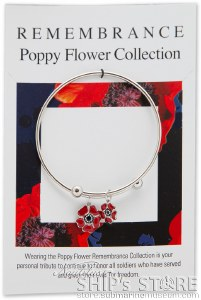 Bracelet -Sil - Red Poppy