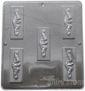 Candy Mold - Dolphin Insignia