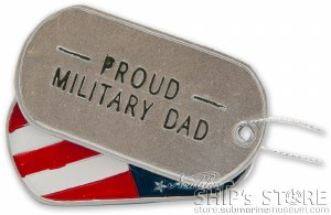 Dad Military Ornament