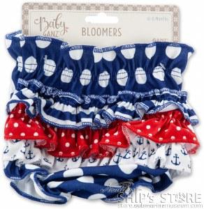 Diaper Cover- Nautical Blommer