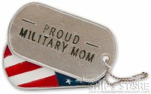 Mom Military Ornament