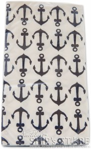 Napkins- 3ply Navy AnchorGuest