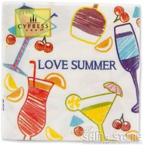 Napkins- Love Summer