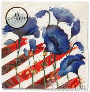 Napkins- Patriotic Foil