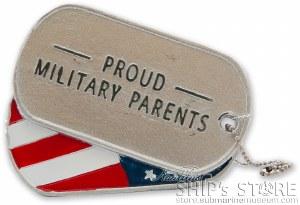 Proud Parents Dog Tag