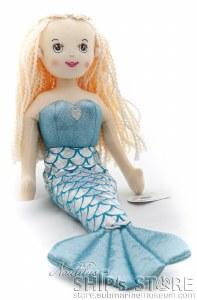 Shimmer Blue Mermaid