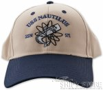 Cap - Nautilus Logo Blue Embro
