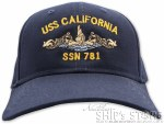 Cap - USS California Officer
