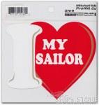 Decal - Heart Love My Sailor