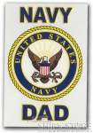 Decal - Navy Dad