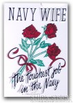 Decal - Navy Wife new design