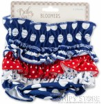 Diaper Cover- Nautical Blommer