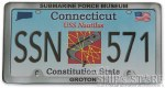 Magnet -  License Plate 571