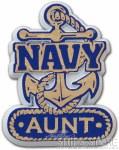 Magnet - Navy Aunt