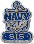 Magnet - Navy Sis