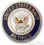 Pin - Navy Retired