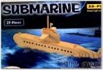 Puzzle - Wood Submarine