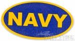 Sticker - Navy Glitter