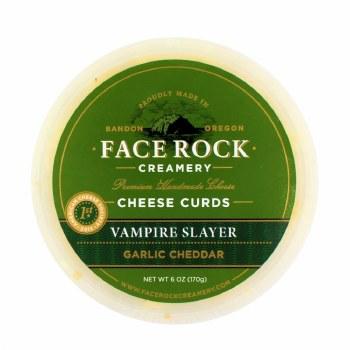 Curds- Vampire Slayer Garlic Cheddar