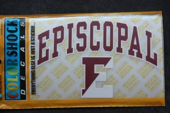 Arched Episcopal decal