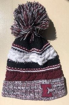 Knit Hat with Pom